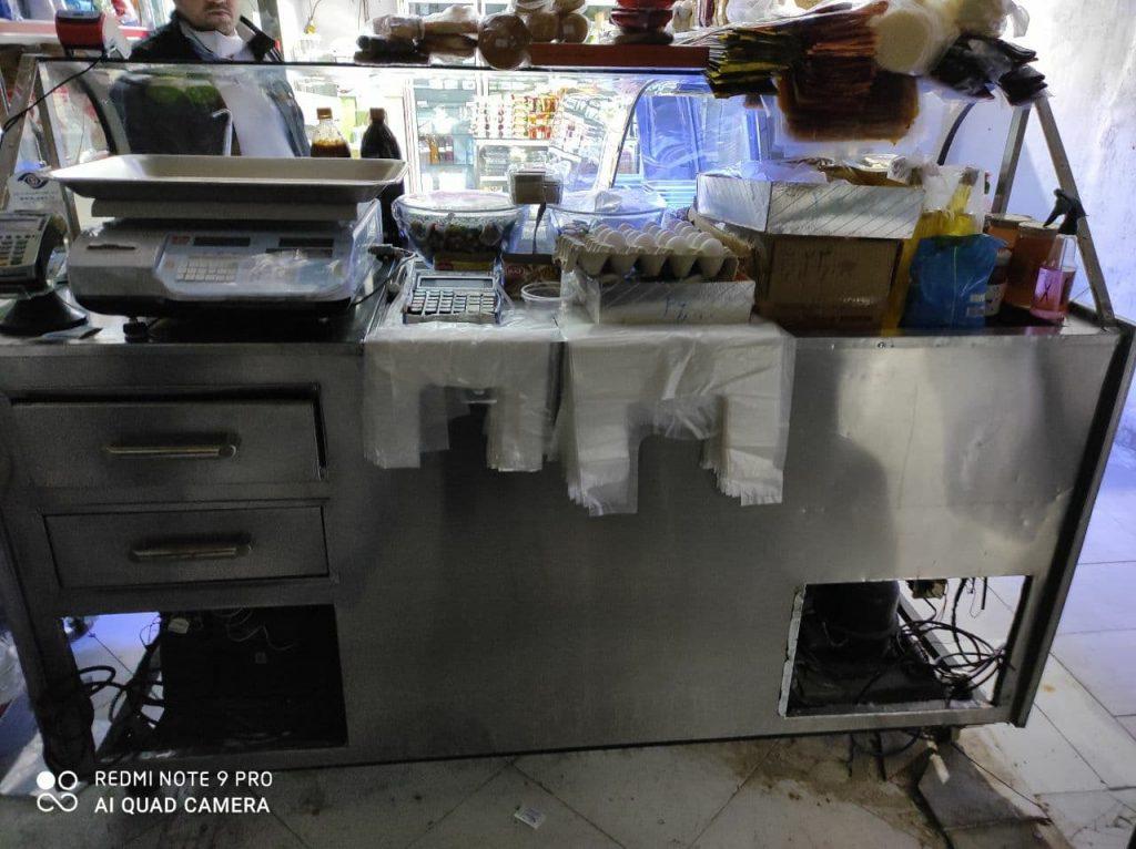 یخچال فریزر فالوده و بستنی